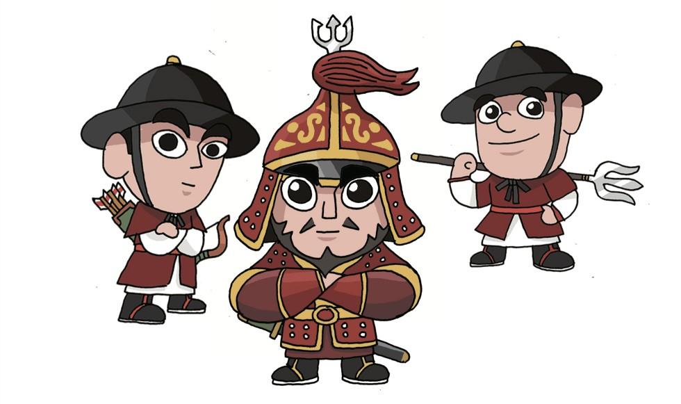 수토사 캐릭터 디자인 제작